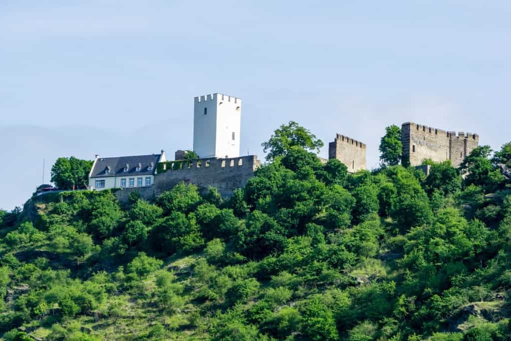 The best Castles in the Rhine river