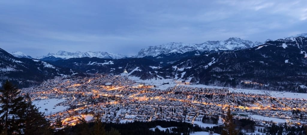 Garmisch-Partenkirchen - Best places to visit in Germany in winter