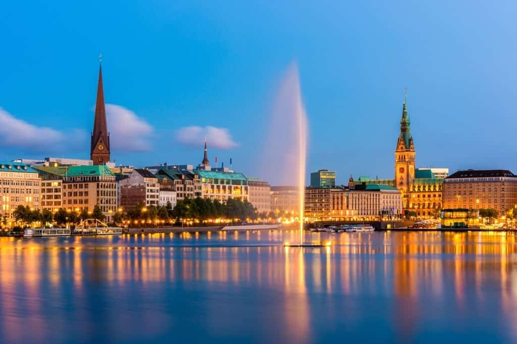 Hamburg - summer destinations in Germany