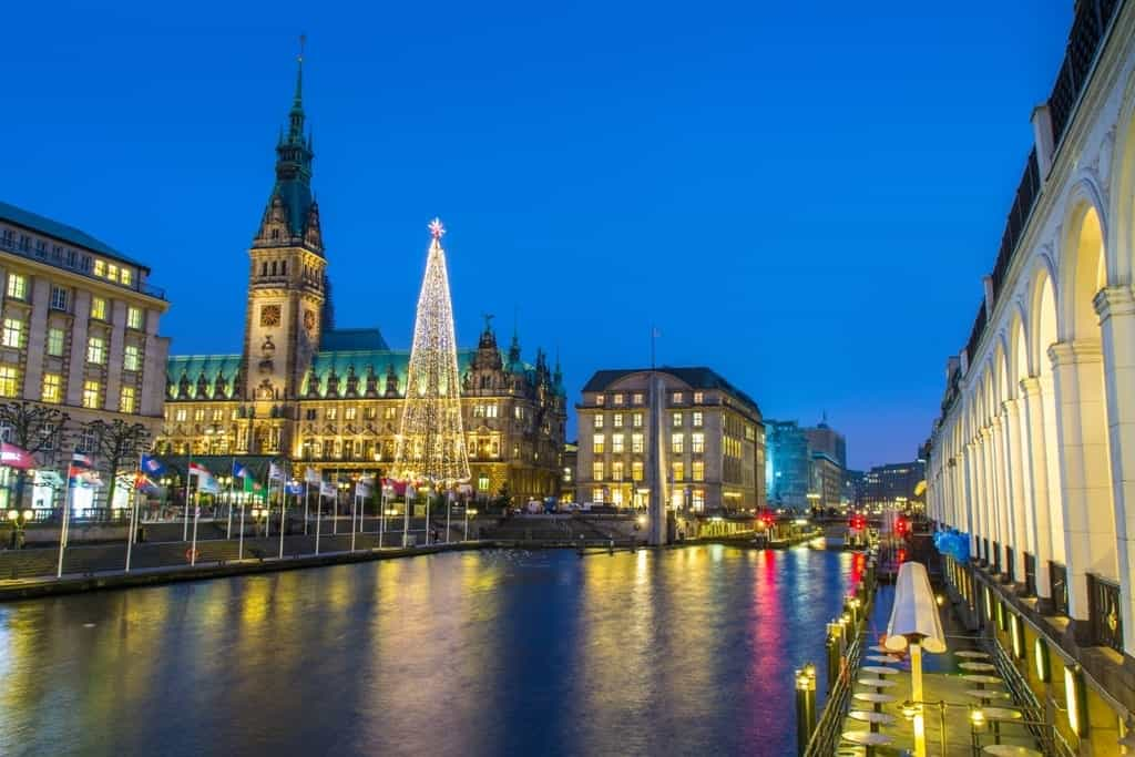 Hamburg -German cities to visit in winter