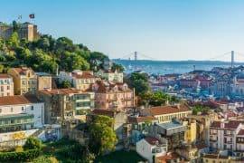 Miradouro da Graça viewpoint - 4 day Lisbon itinerary