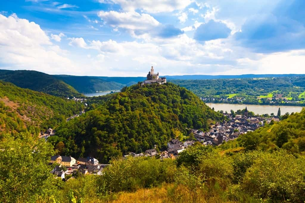 Marksburg -The best Castles in the Rhine river