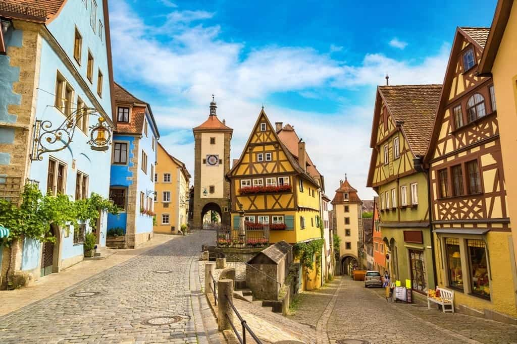 Romantic Road Germany - summer destinations in Germany