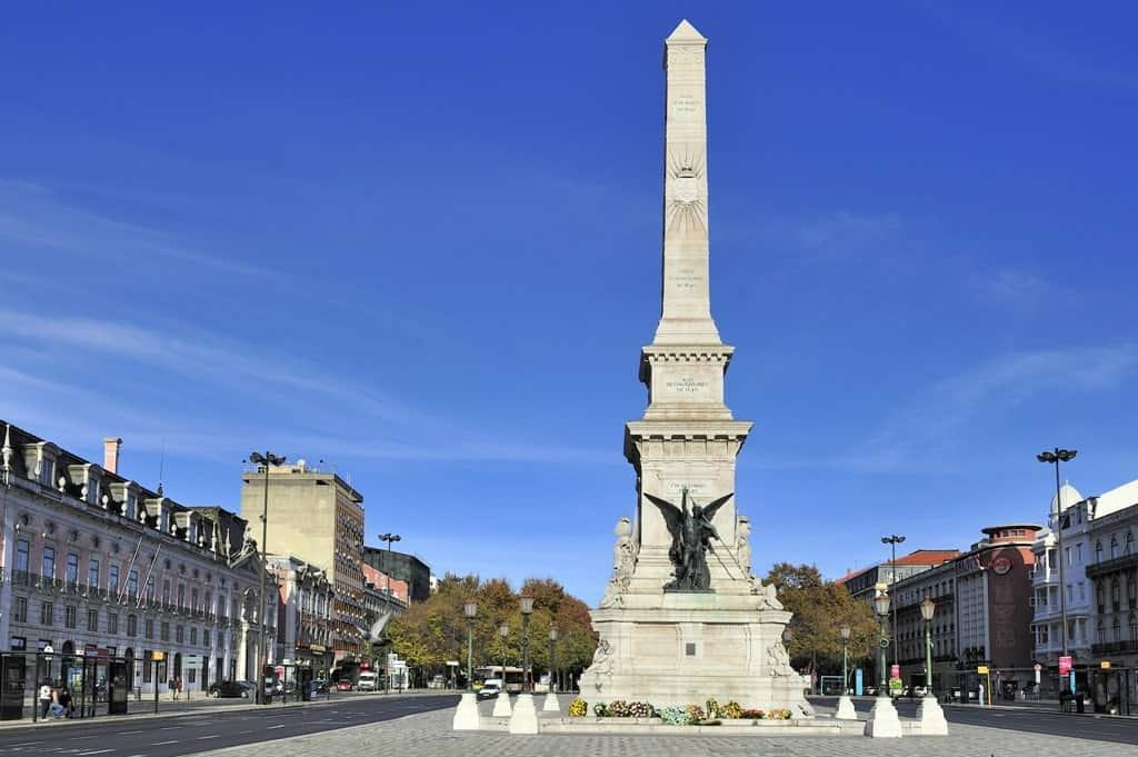 Praça Dos Restauradores - 4 day Lisbon itinerary