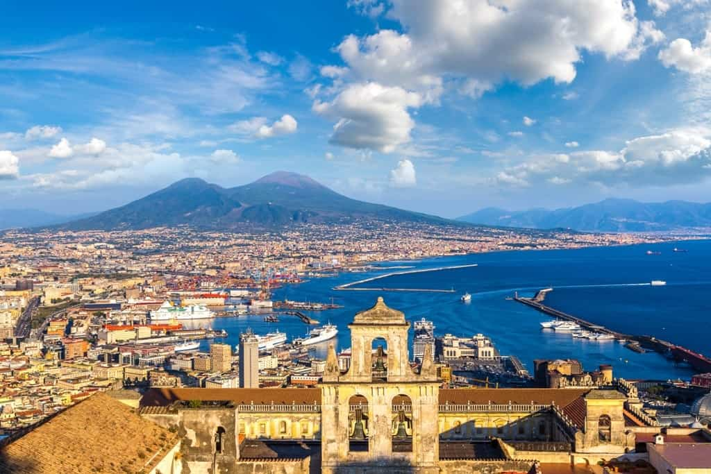 Naples - Italy in winter