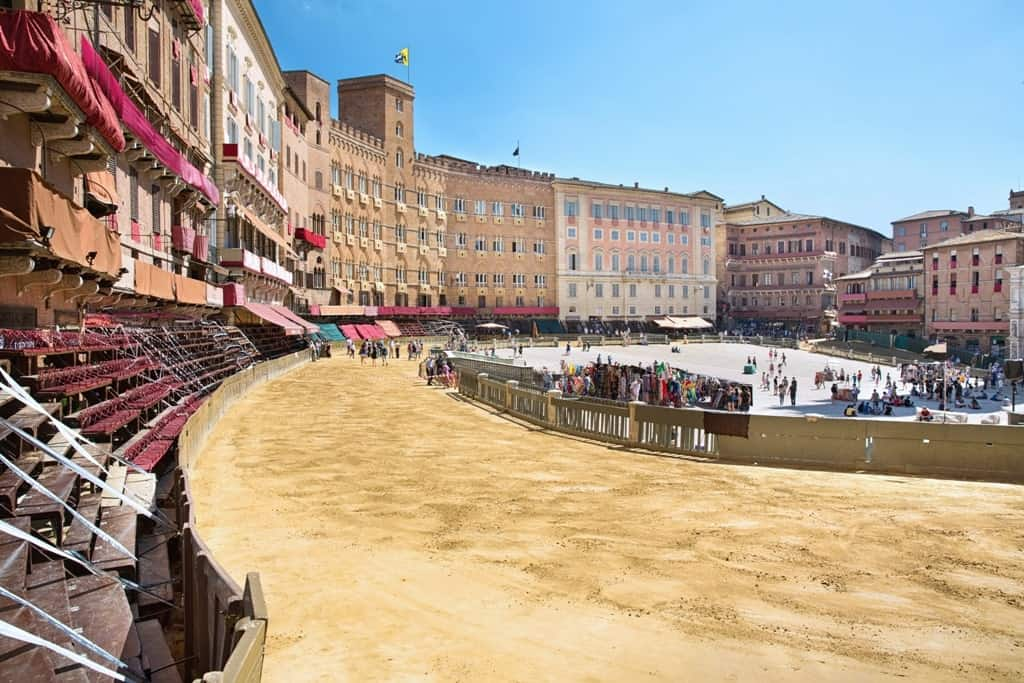 Siena is a great place to go n Europe in July