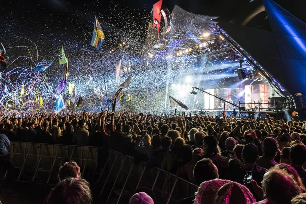 Glastonbury Festival - a must see event in Europe in June
