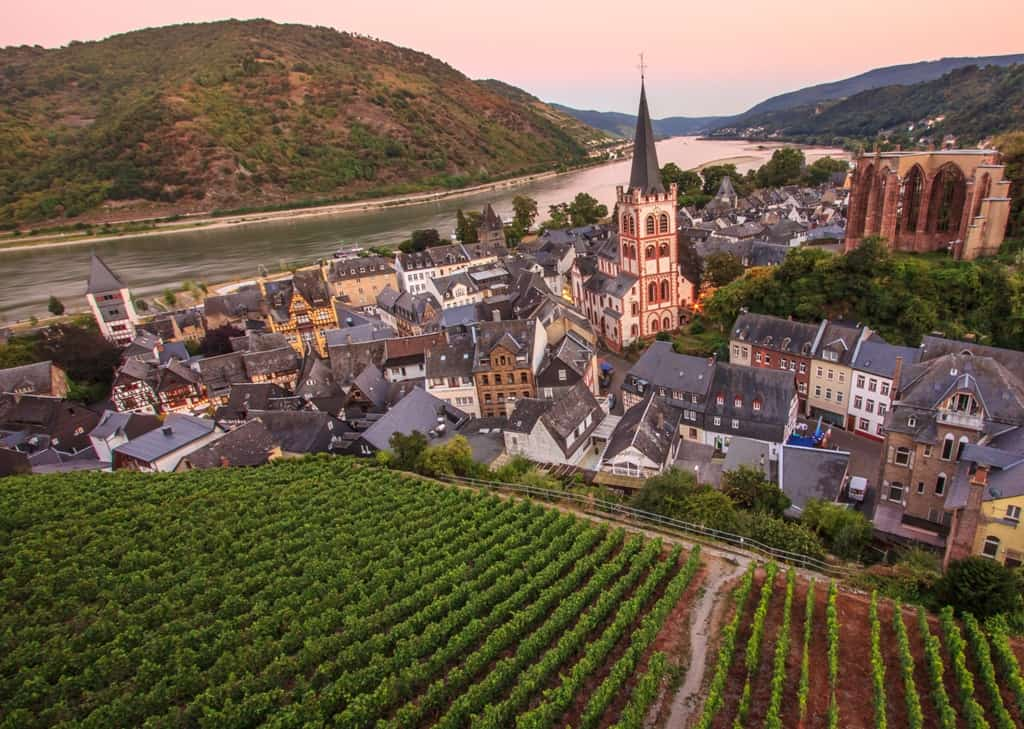 Bacharach town - Best Towns to visit on the River Rhine