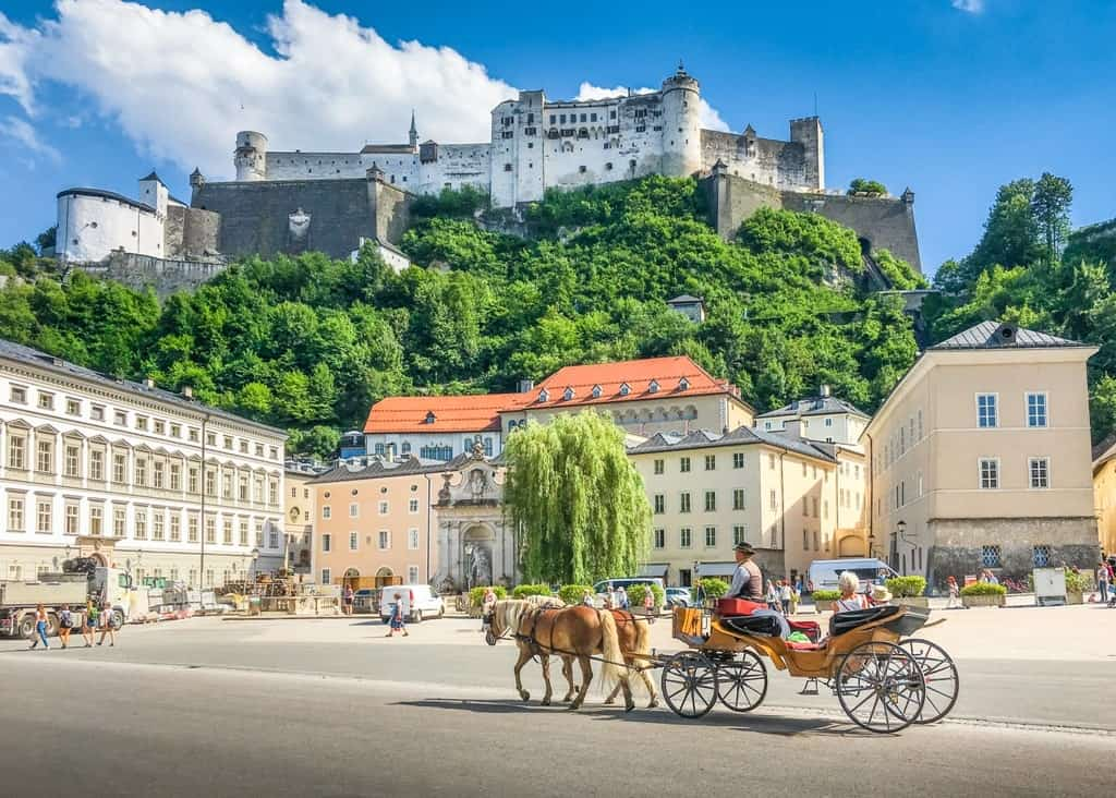 Salzburg is a great destination to visit in Europe in August