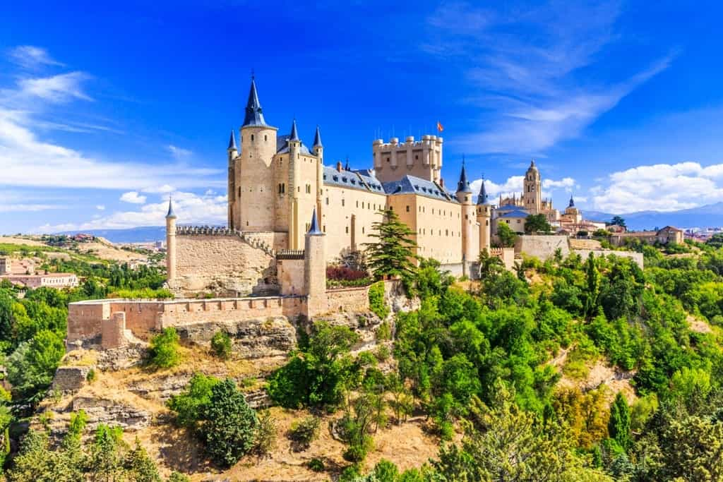 Segovia is a great day trip from Madrid