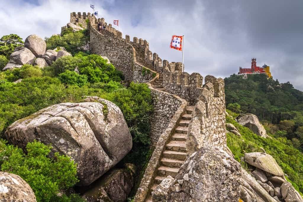 Castelo de los Mouros - 4 day Lisbon itinerary
