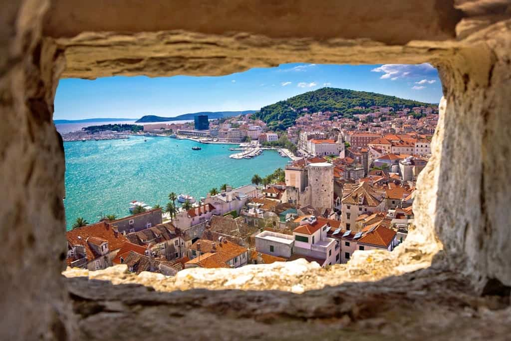 The Dalmatian Coast is one of the best places to visit in Europe in June