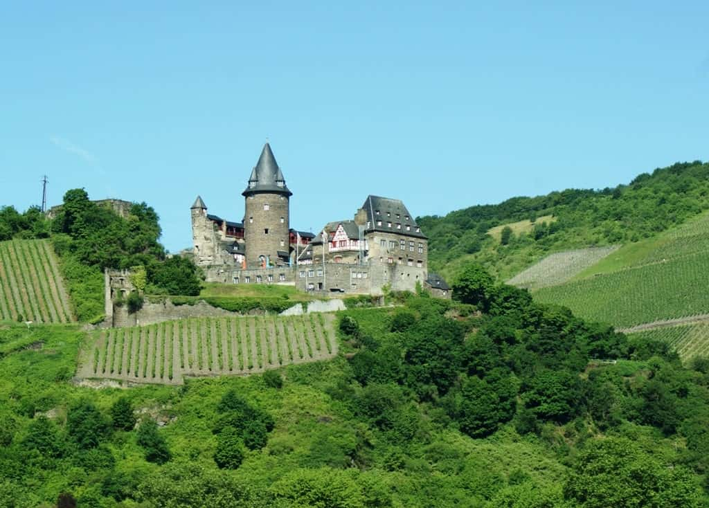 Stahleck Castle - a castle to visit in river Rhine