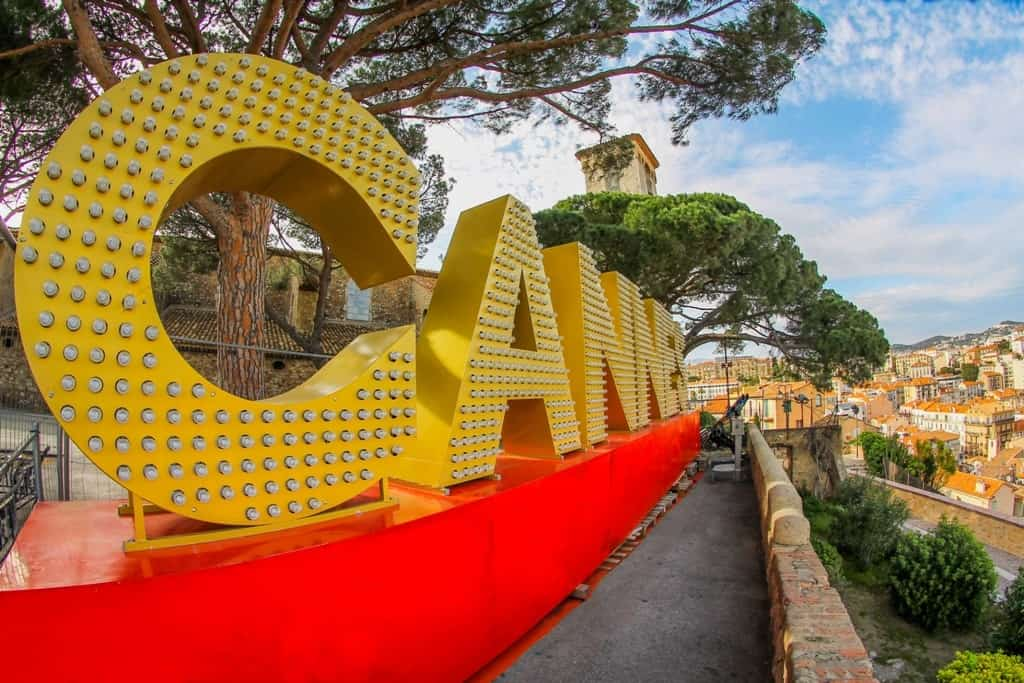 Cannes is one of the best places to go in Europe in May