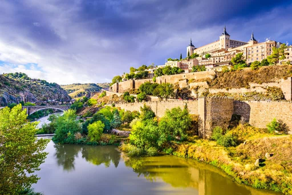 Toledo is an easy day trip from Madrid