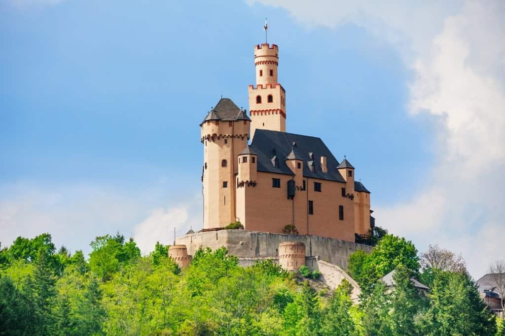 Marksburg Castle -The best Castles in the Rhine river