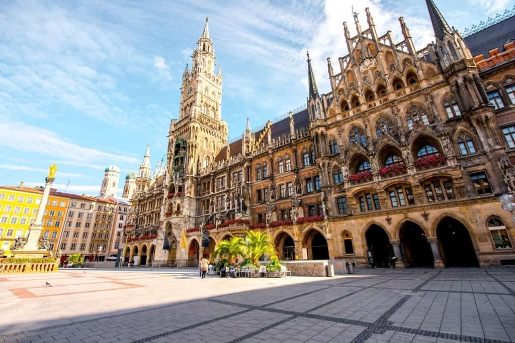 Munich - the places to visit in Germany in summer
