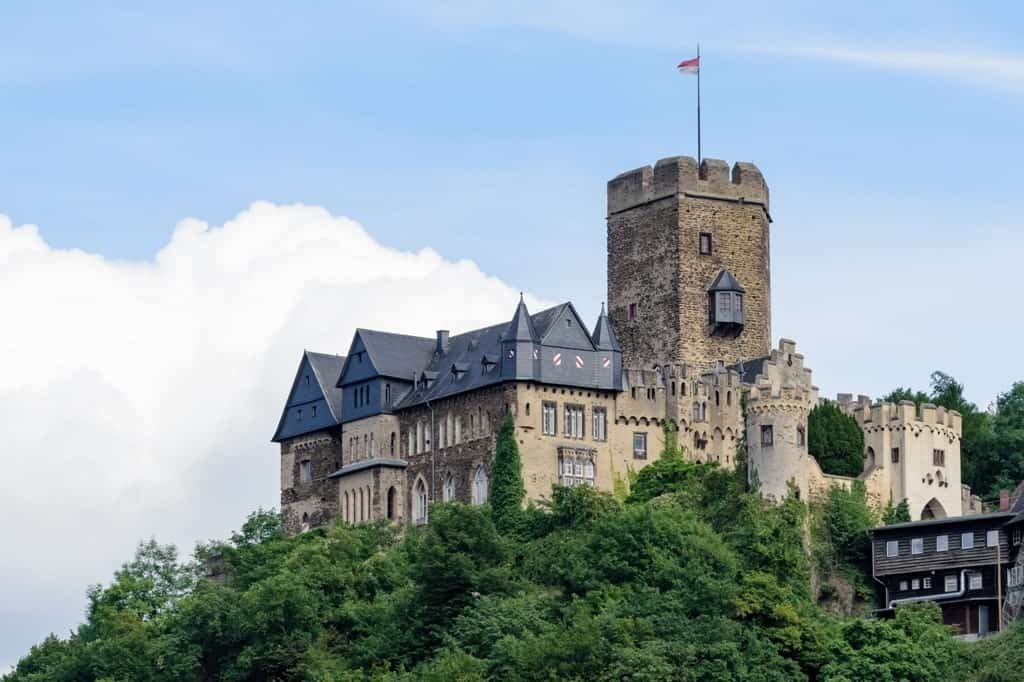 Lahneck Castle - The best Castles in the Rhine river