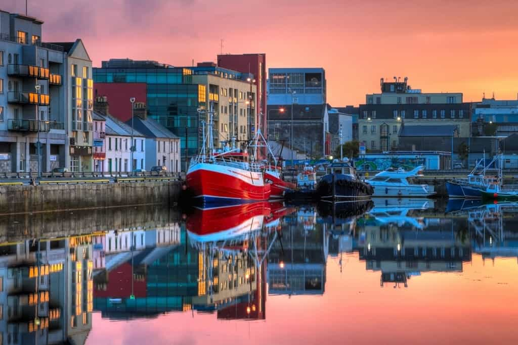 Galway Ireland - best places to go in Europe in September