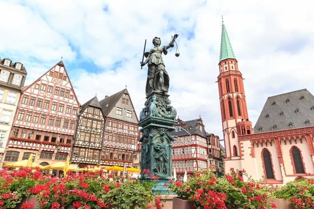Frankfurt - the places to visit in Germany in summer
