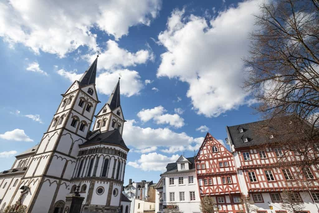 Boppard - town to visit in the Rhine river
