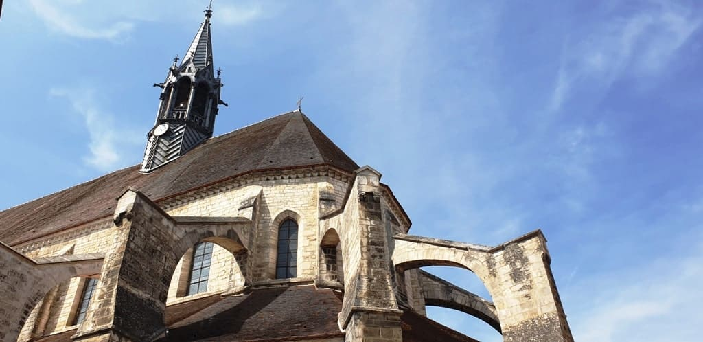 Saint-Martin Collegiate Church - Chablis Town Burgundy
