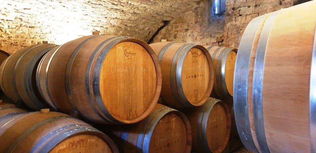 Chablis barrels