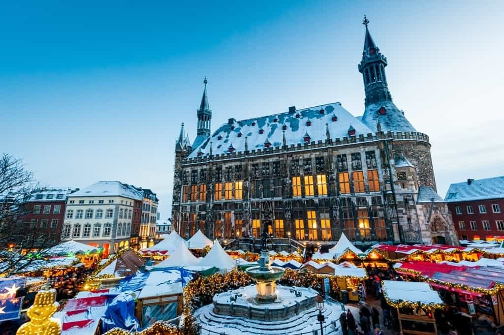 Aachen Christmas Market Germany - which country in Europe to visit in december