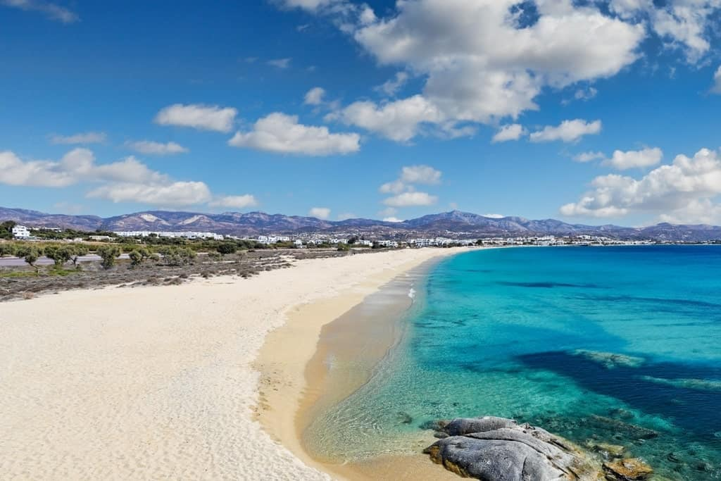 Agios Prokopios beach - where to stay in Naxos