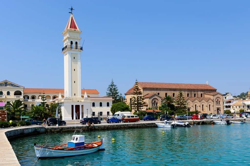 Zante - best Greek islands to visit in September