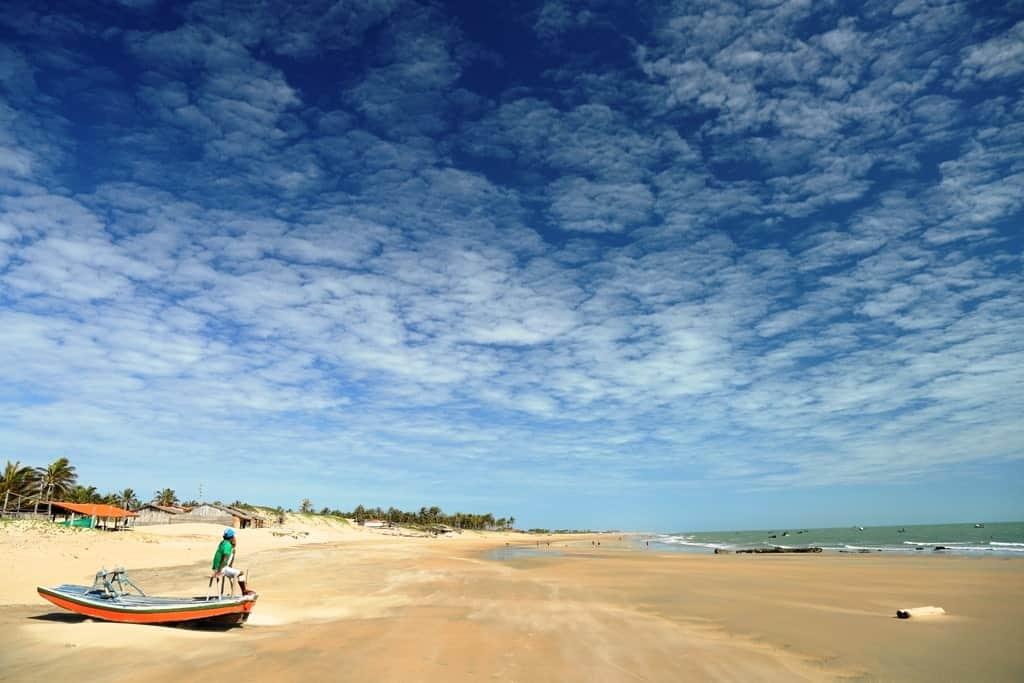 Beach of Almofala, Itarema Ceara