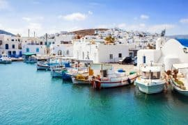 Greek island hopping - Naousa village, Paros