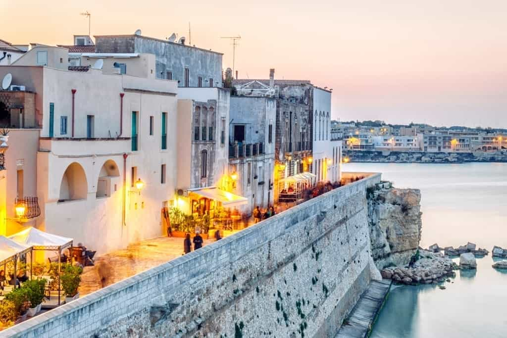 Otranto by Adriatic Sea, Puglia