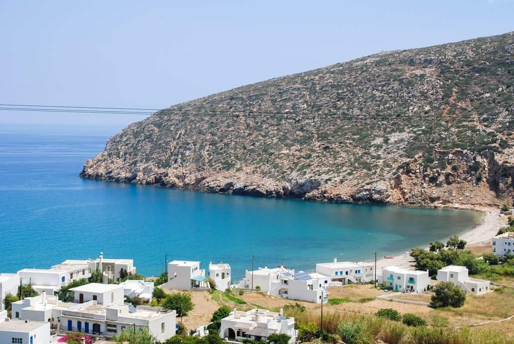 Apollonia village on Naxos island