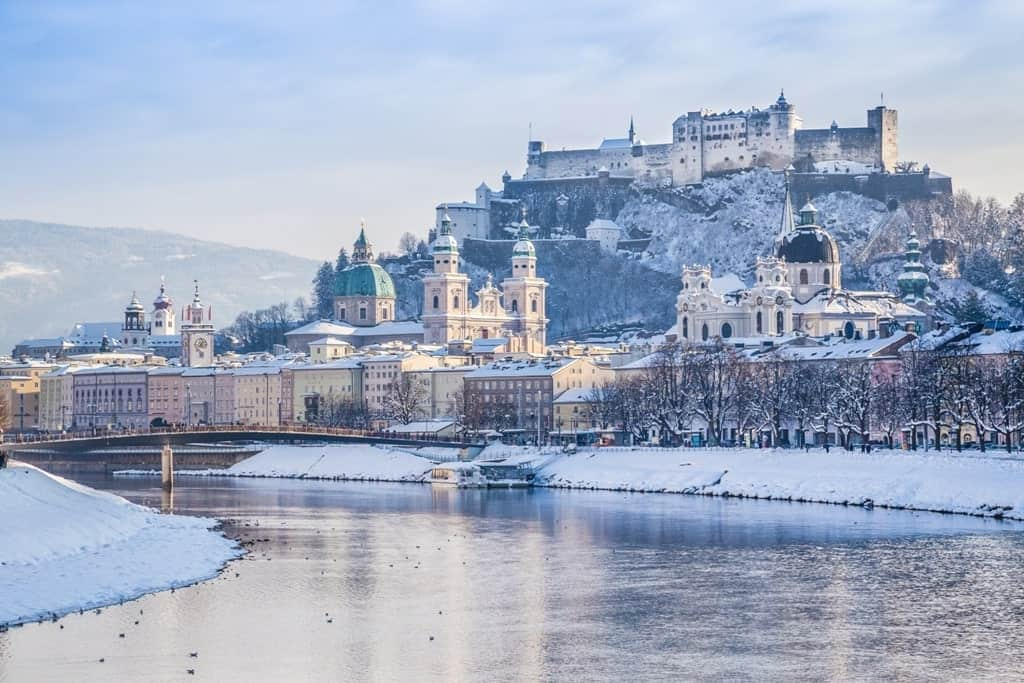 Salzburg - where to go in Austria in winter