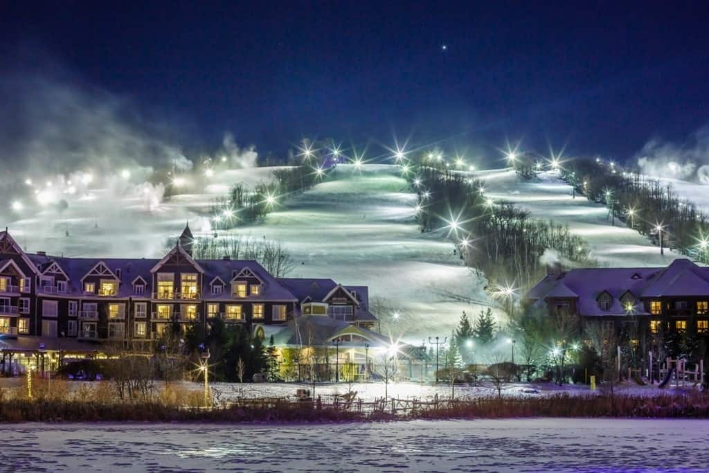 Blue Mountain Village - Ontario winter