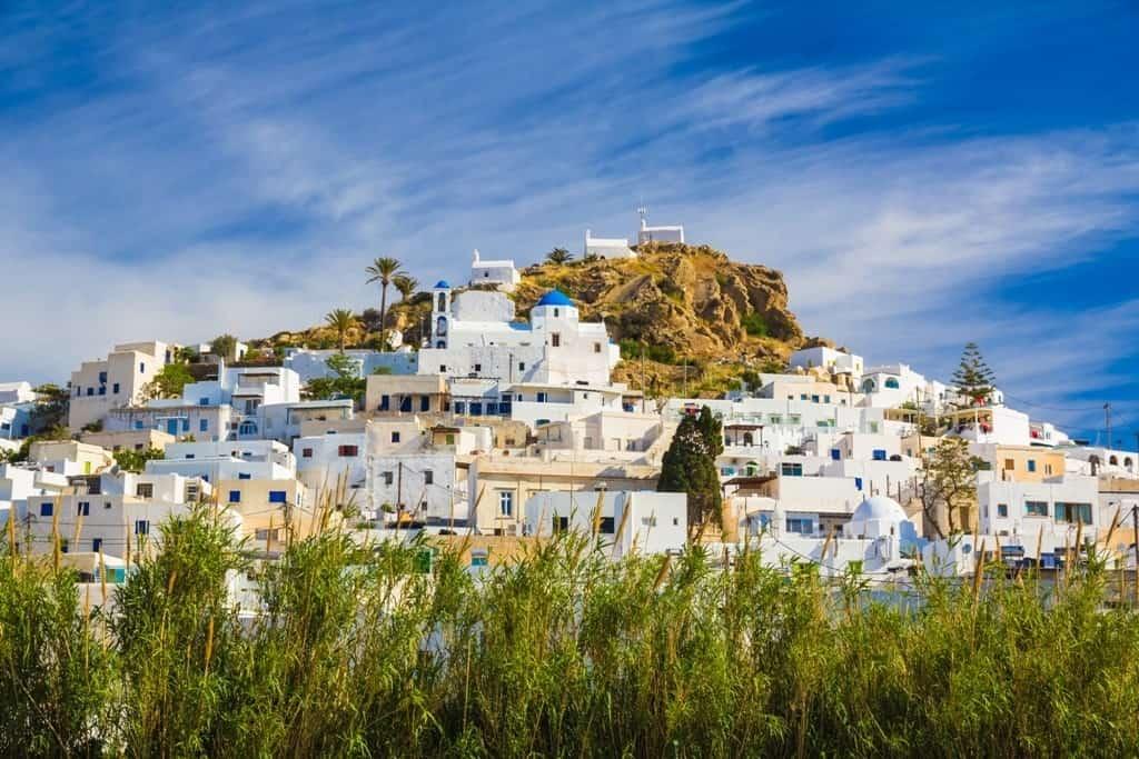 Chora town, Ios island - Greek island hopping