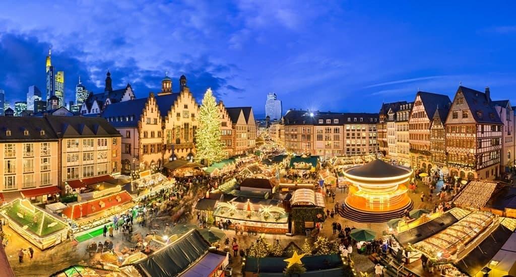 Christmas market in Frankfurt - Frankfurt in winter