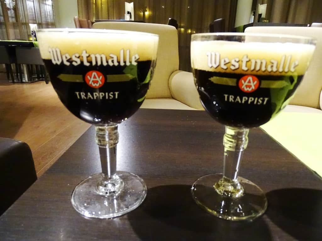 Belgian beer on eof the things to do in Brussels in winter