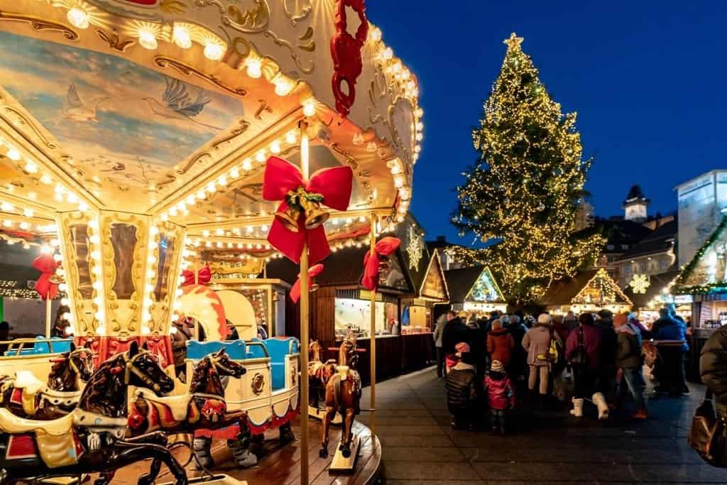 Graz Christmas Market - Austria in December