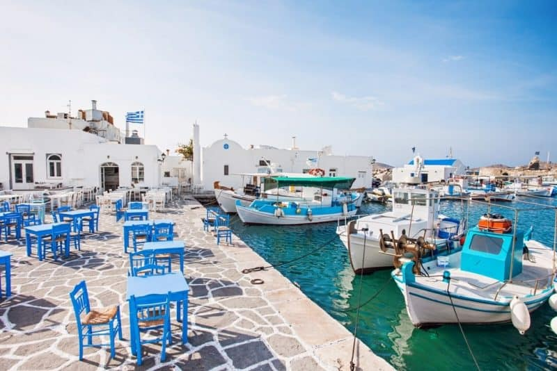Paros, Naousa - Greek island hopping