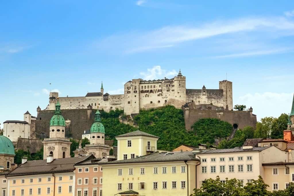 Hohensalzburg Fortress in Salzburg - Austria itinerary