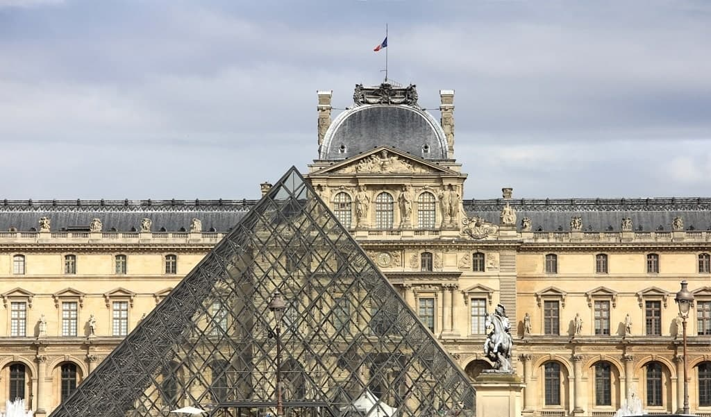 Things to do in Paris in winter - Louvre museum
