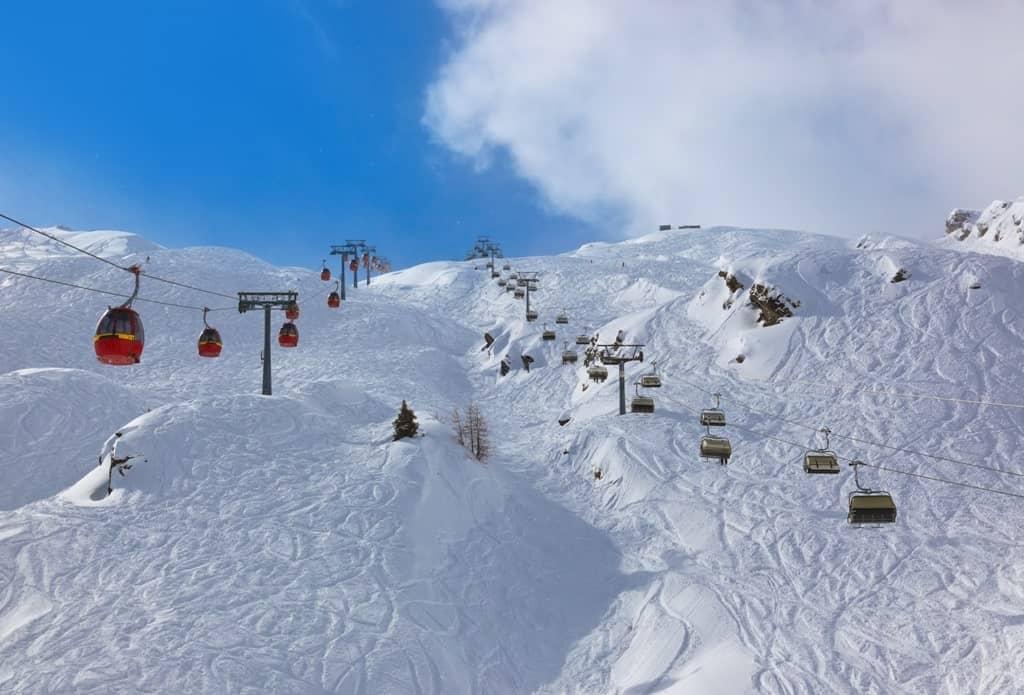 ski resort Kaprun Austria