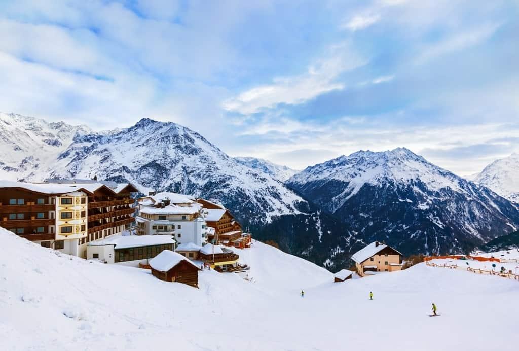 ski resort Solden Austria