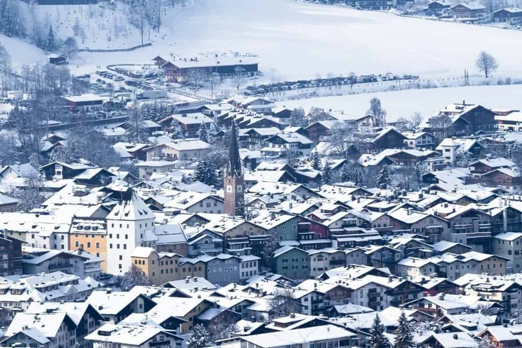 Kitzbuhel - places to visit in winter in Austria