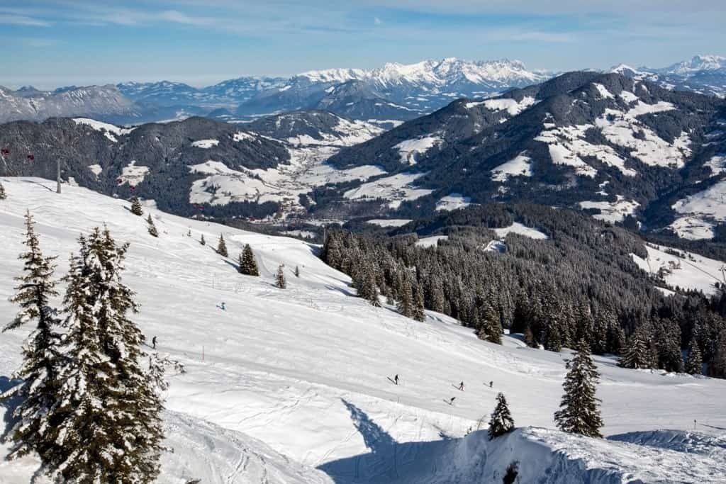 ski resort of Alpbachtal, Wildschönau - places to visit in Austria in winter