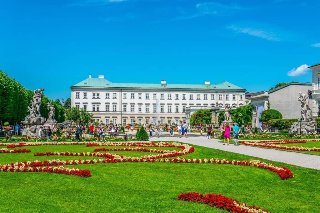 Mirabell Gardens Salzburg - 7 day Austria itinerary