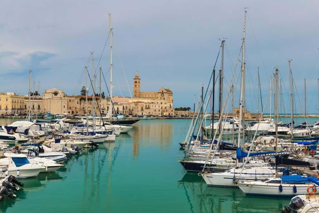 Trani Adriatic seaside resort
