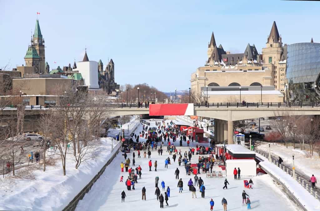 Rideau Canal Ice Skating Rink